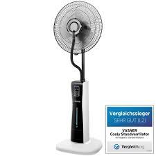 Vasner Stand Ventilator Cooly Mit Sprühnebel F Real