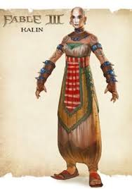 kalin is a character in fable iii she is the leader of the aurorans and will join the hero in