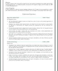 Examples Of Objective In A Resume Objective Resume Samples Career