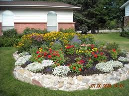 ... Large Size of Patio & Outdoor, Flower bed arrangements wood flower bed  ideas front garden ...