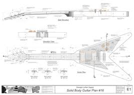 solid body electric guitar plan 16 electronic version flying v solid body electric guitar plan 16 electronic version