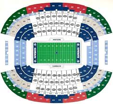 Dallas Cowboys Seating Chart Virtual Deftgrrrl Co