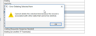 Remove Work Order Statuses From View Db Table Bmc Communities