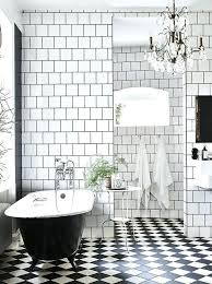 black and white mosaic tile kitchen floor contemporary cool bathroom idea you should try dig checked black and white mosaic wall tile
