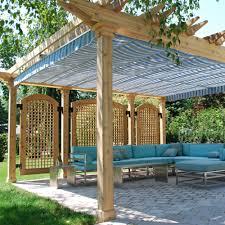 retractable pergola canopy. CAD Drawings ShadeFX Residential Installation: Retractable Pergola Canopy, Oakville Canopy