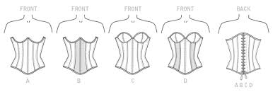Corset Pattern Free Enchanting M48 Overbust Or Underbust Corsets By Yaya Han Sewing Pattern