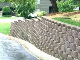 home depot retaining wall brick perfect decorative cinder blocks home depot on home interior