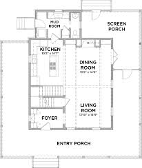 ... White House Original Floor Plan ...
