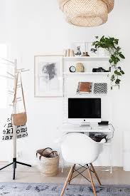 cozy contemporary home office. typiste home office scandinavian interior workspace cozy contemporary