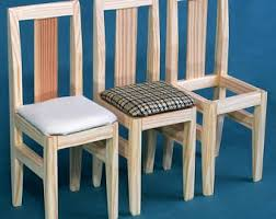 barbie wood furniture. CHAIRS Wooden Dolls House Furniture 1:6 Scale Barbie Blythe EAH Collectible Accessories Role Wood