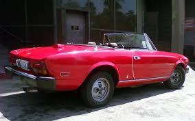 1979 fiat 124 spider classics motor trend 1979 fiat 124 spider rear three quarter