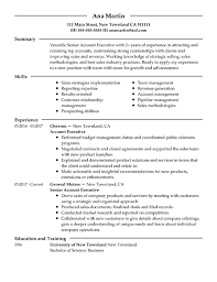 A Summary For A Resumes Resume Samples For Every Job Title Industry Resume Now