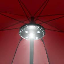 Umbrella Lights Details About Patio Umbrella Lights Battery Operated Umbrella Pole Light Outdoor Lighting Us