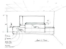 reception desk height average inches counter home design dimensions size college