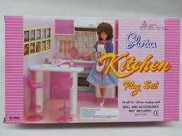 Gloria Barbie Doll Furniture Kitchen Set