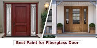 on fiberglass door
