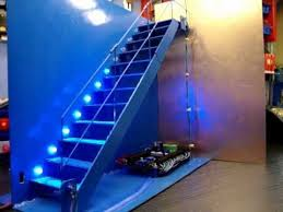 automatic led stair lighting. Automatic Stair LED Lighting Demonstration Led T