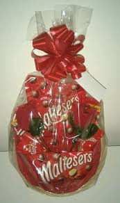 maltesers valentines day gift her basket for her birthday sweets chocolate ebay