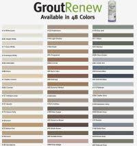 Grout Stain Color Chart Best 25 Grout Colors Ideas On