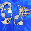 Ожерелье бусинки янтарные для рукодельниц <b>Янтарь бусы</b> ...