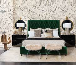 tufted upholstered bed. Love This Emerald Green Button-tufted Upholstered Bed! Tufted Bed L