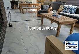 concrete overlay patio