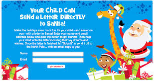 mail a letter to santa toys r us free letter to santa freebies2deals