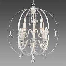 golden lighting ella 9 light french white chandelier light