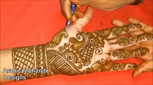 Arabic Mehendi Design For Bride Simple Bridal Mehandi Designs For Full Hands Latest Wedding Arabic Mehndi Designs Front And Back