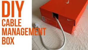 DIY cable management box
