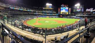 Citi Field Seating Chart Row Numbers Citi Field Section 116 Home Of New York Mets
