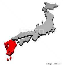 「九州地図」の画像検索結果