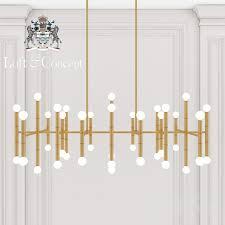 er meurice rectangular chandelier jonathan adler