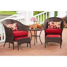 Hd Designs Outdoors Hd Designs Outdoors Peach Tree 5 Piece Wicker Set