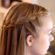 Hairstyle Braid waterfall braid cute braided hairstyle for 2014 pretty designs 7327 by stevesalt.us