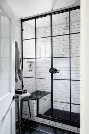 the best of small black and white bathroom. Black And White Bathroom Pictures With Glass Windows Small Chair Also Ceramic Flooring Colors The Best Of