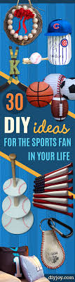 Diy Projects For Men 30 Cool Diy Ideas For The Sports Fan In Your Life Diy Joy