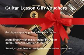 Guitar Lesson Gift Certificate Template Guitar Lesson Gift Vouchers