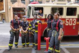 Meet The History-Making Firefighters Of First All-Women Staffed ...