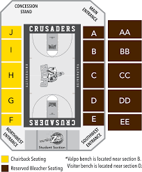 Dd Center Seating Chart Seating Chart Official Website Of Valpo Athletics