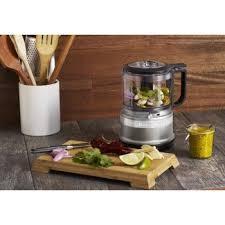 kitchenaid 3 5 cup mini food processor. kfc3516cu kitchenaid s contour silver mini food processor in 3 5 cups kfc3511cu cup
