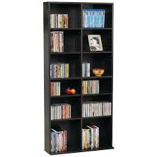Cherry Wood Dvd Storage Cabinet Amazoncom Atlantic 38435719 Oskar Media Cabinet For 464 Cd Or