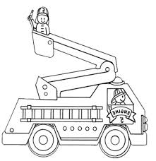 fire truck coloring page. Simple Page Best Of Fire Trucks Coloring Pages Gallery 4b  Fire Trucks  Online Intended Truck Coloring Page N