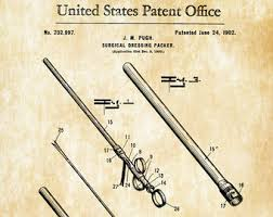 surgical instrument patent 1902 doctor office decor. Surgical Instrument Patent 1902 - Doctor Office Decor, Nurse Gift, Medical Art, Decor P