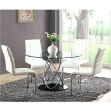 small round glass kitchen table round glass kitchen table and chairs circular dining 4 with set