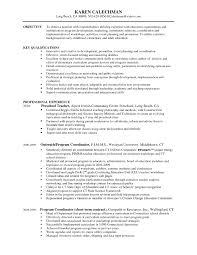 Program Coordinator Resume Samples 73 Images Resume Samples