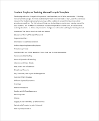 Training Manual Template 10 Training Manual Template Free Sample Example Format Free