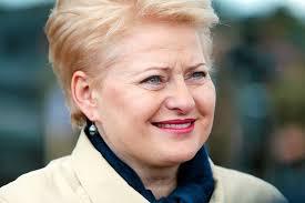 Президент Литвы Даля Грибоускайте dalya3