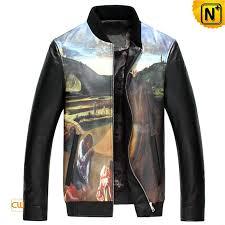 mens italian leather jacket cw890026 cwmalls com