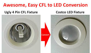 superior method for 4 pin g24 socket cfl to led conversion with ballast bypass you